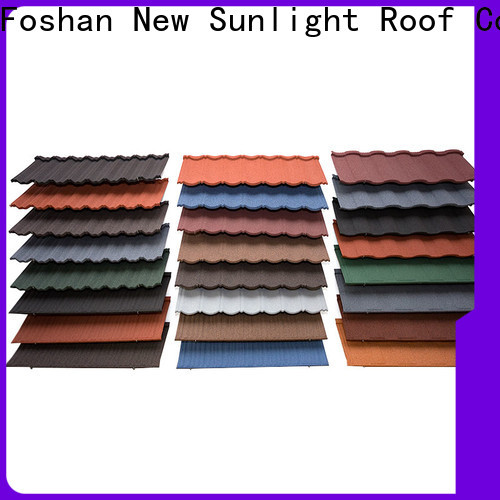 New Sunlight Roof wholesale metal tiles roof for business for School