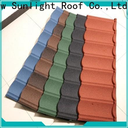 top metal roofing supplier for garden construction