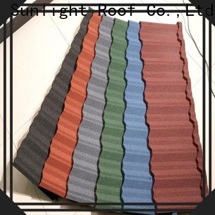 New Sunlight Roof best waterproof metal roof manufacturers for Hotel