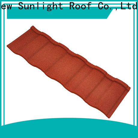 New Sunlight Roof top roman roofing factory for Leisure Facilities