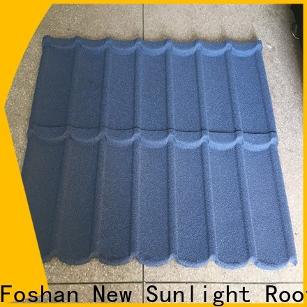 New Sunlight Roof coated stone roofing company suppliers for warehouse market