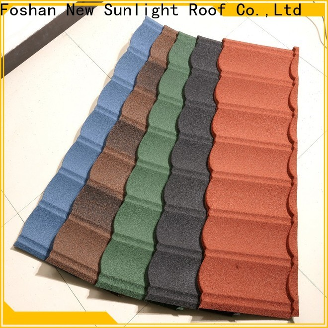 New Sunlight Roof coated steel roofing companies manufacturers for industrial workshop