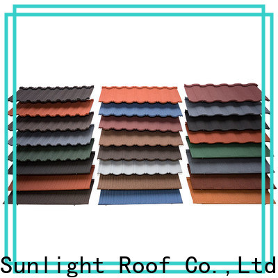 New Sunlight Roof tiles rainbow roofing company for Hotel