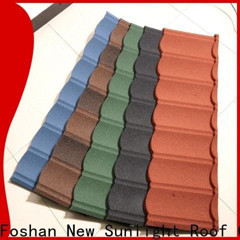 New Sunlight Roof custom coated steel roofing suppliers for garden construction