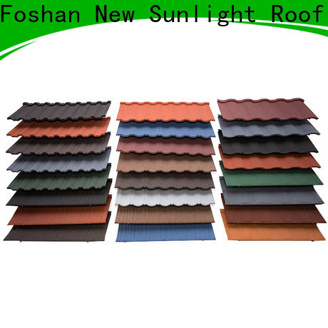 New Sunlight Roof roofing metal tiles roof company for School