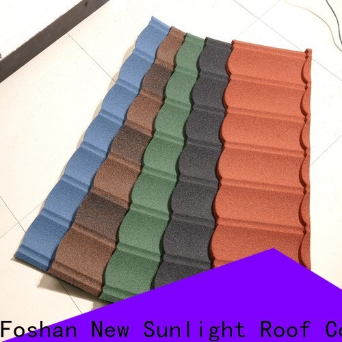 New Sunlight Roof colorful metal roofing supplies for business for industrial workshop