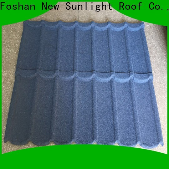 New Sunlight Roof roofing aluminium metal roofing sheets factory for garden construction