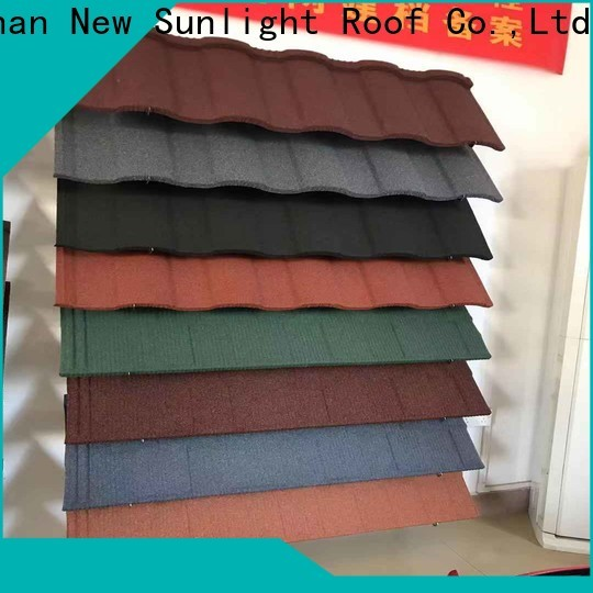 New Sunlight Roof roofing architectural metal roofing shingles company for warehouse market
