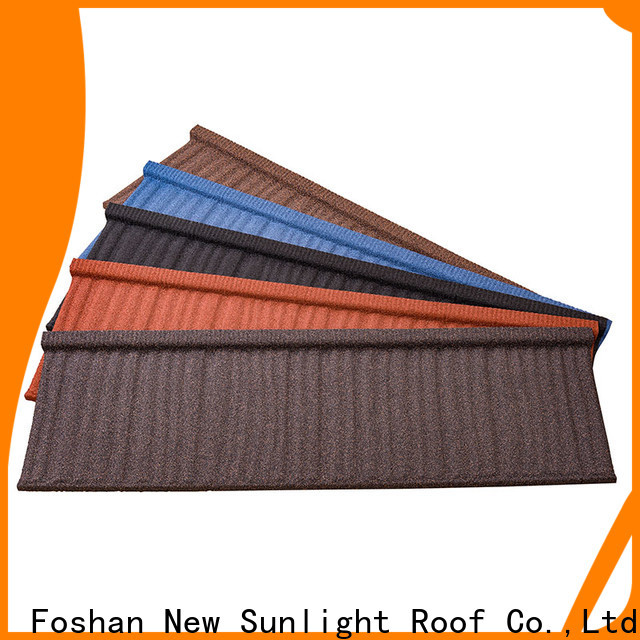 New Sunlight Roof stone composite roof tiles suppliers for business for Villa