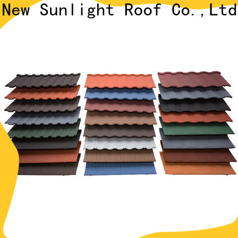 New Sunlight Roof metal lightweight roofing sheets for Hotel
