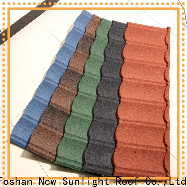 New Sunlight Roof new shingle look metal roof manufacturers for industrial workshop