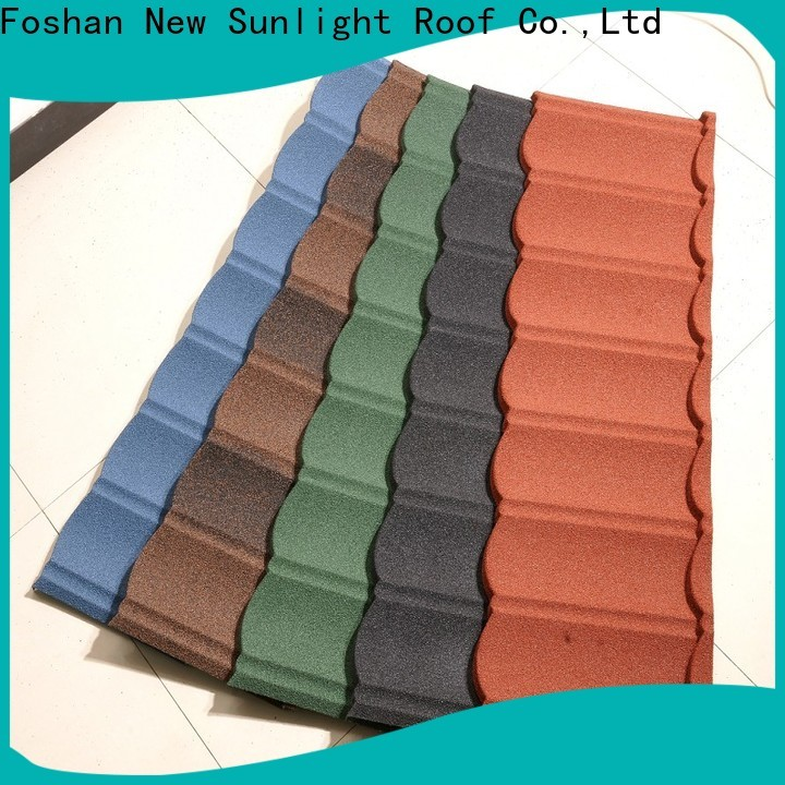 new coated steel roofing sheets tile factory for warehouse market