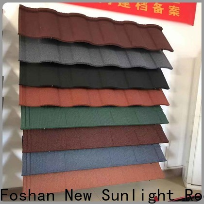 New Sunlight Roof roofing stone roof tiles company for greenhouse cultivation