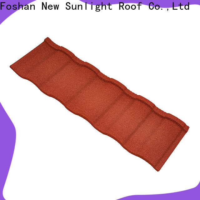 New Sunlight Roof new coated roofing sheets supply for Farmhouse