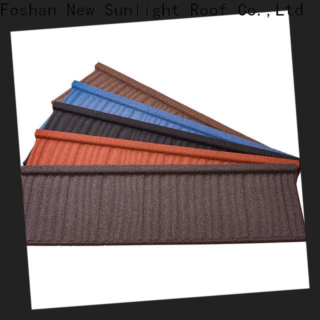 New Sunlight Roof best lightweight tiles supply for School