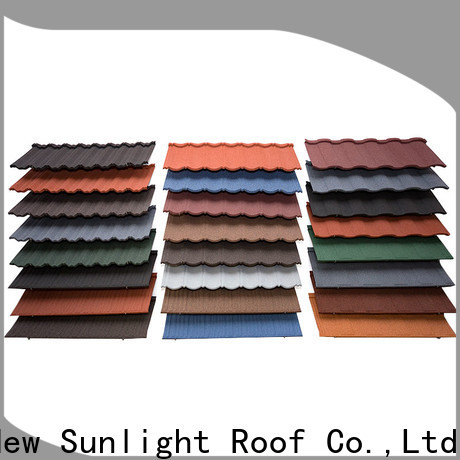 New Sunlight Roof best stone coated roofing products company for Hotel