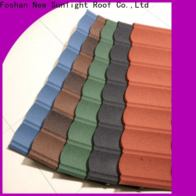 New Sunlight Roof top metal roofing supplier for business for Office
