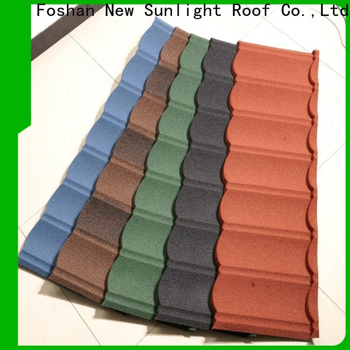 coated steel roofing sheets stone company for warehouse market
