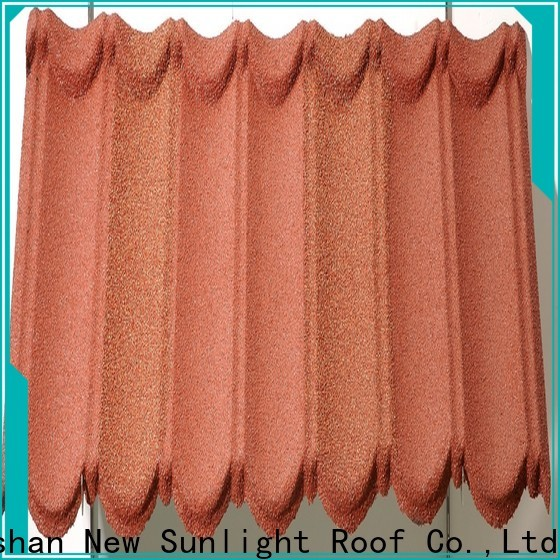 New Sunlight Roof bond stone coated shingles manufacturers for greenhouse cultivation