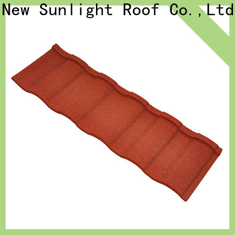 New Sunlight Roof coated spanish tile manufacturers supply for Farmhouse