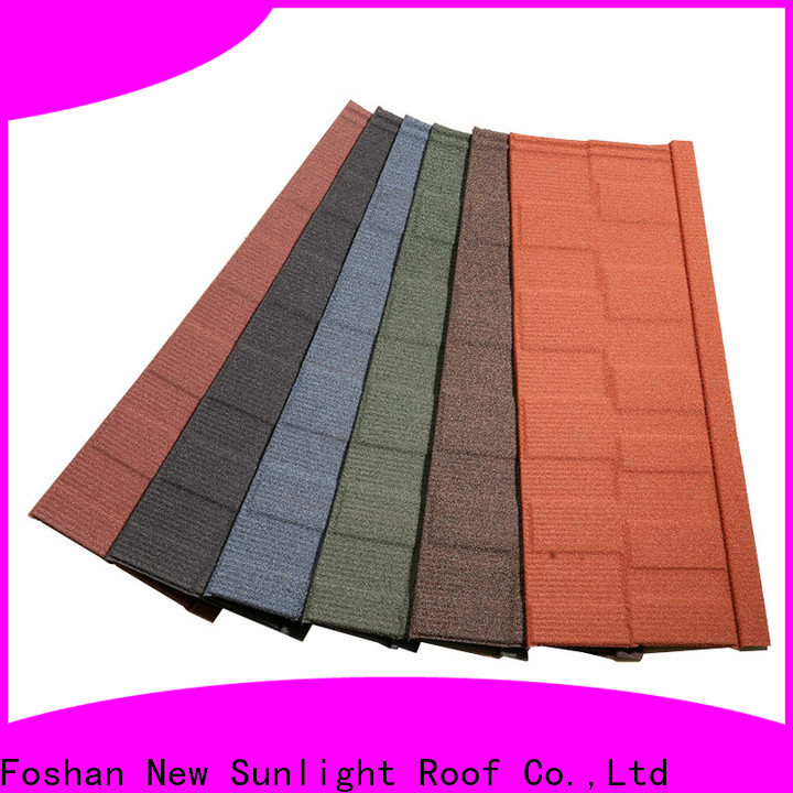 New Sunlight Roof tiles roof shingles manufacturers factory for Villa