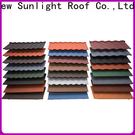 New Sunlight Roof construction tile roofing company factory for Hotel