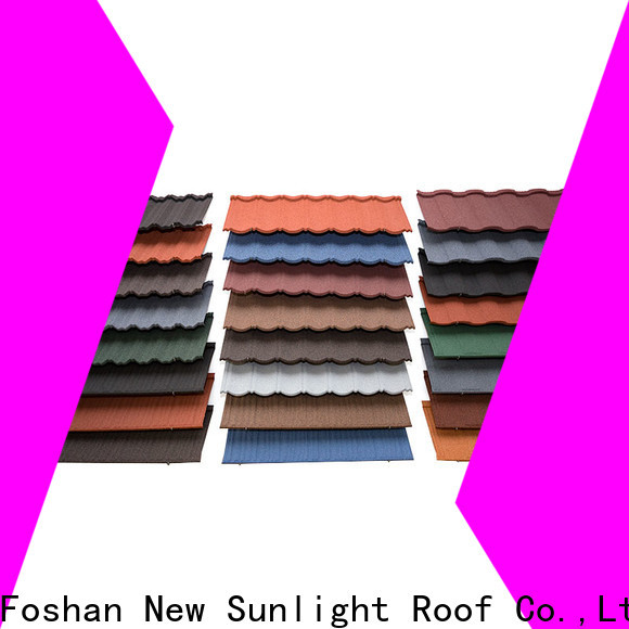 New Sunlight Roof stone rainbow roofing company for School