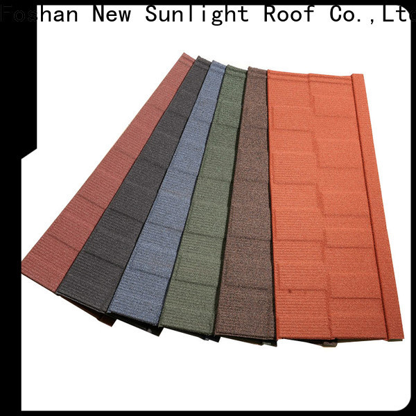 New Sunlight Roof shingle shingles and roofing factory for School