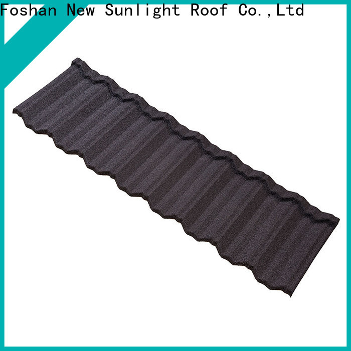 New Sunlight Roof coated residential roofing materials factory for Hotel
