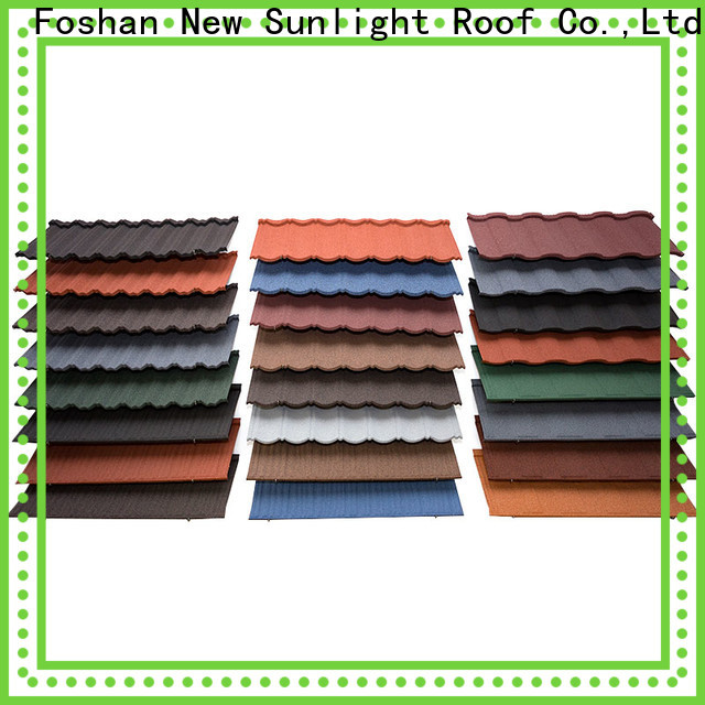 New Sunlight Roof roof stone coated roof tiles suppliers for Office