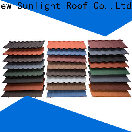 New Sunlight Roof stone tile roofing materials for business for Villa