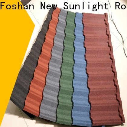 New Sunlight Roof roof lightweight roofing materials factory for Office