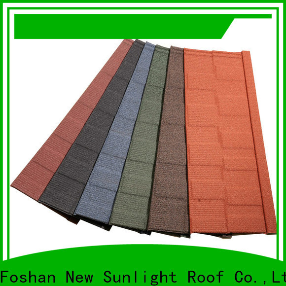 New Sunlight Roof grey roof shingles factory for Office