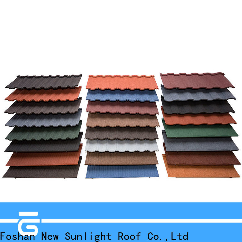 New Sunlight Roof best stone coated roofing products company for School