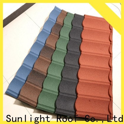 New Sunlight Roof high-quality stone coated steel factory for garden construction