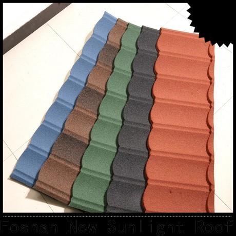 New Sunlight Roof decra tiles factory for warehouse market