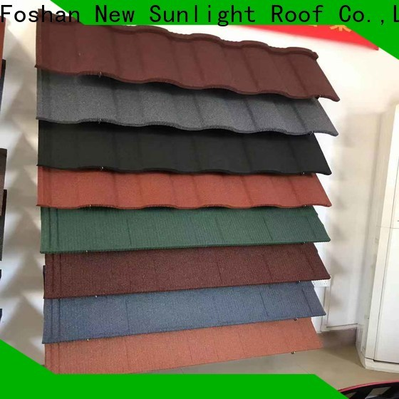 new stone coated steel roofing tile roofing company for warehouse market