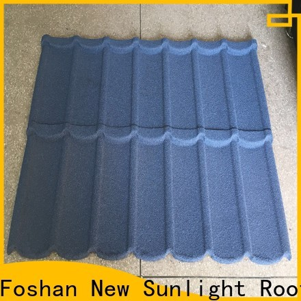 New Sunlight Roof residential metal roofing products for business for industrial workshop